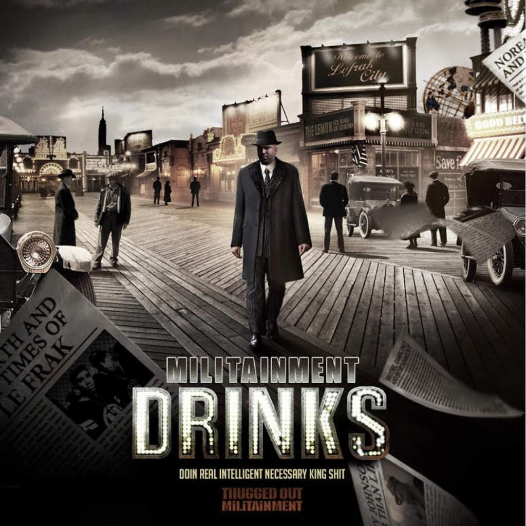 N.O.R.E. & Militainment Presents: DRINKS EP при участии Tragedy, Raekwon, Busta Rhymes,…