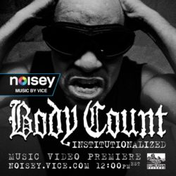 Немного тяжёлой музыки в новом видео от Ice-T и Body Count