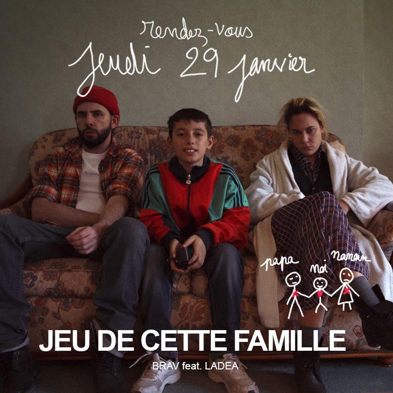 Мама, папа, я — не самая счастливая семья. Новое видео француза Brav.