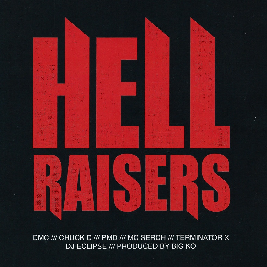 Монстры хип-хопа на одном треке и видео: DMC, Chuck D, PMD, MC Serch, Terminator X, DJ Eclipse, Big KO