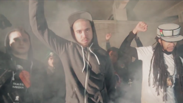 Суровая рэпчина из Нидерландов, смотрим клип Insayno при участии Rass Motivated