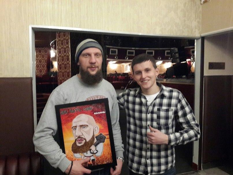Художник-карикатурист из Казани, неравнодушный к русскому хип-хопу
