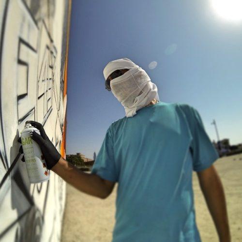 Граффити-тур по городам Европы, Африки,… с краской-спрэй в руках.