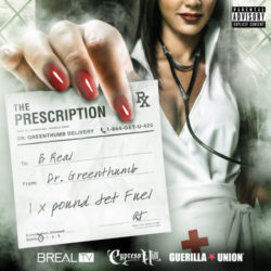 Новый микстейп от B-Real (Cypress Hill) «The Prescription»