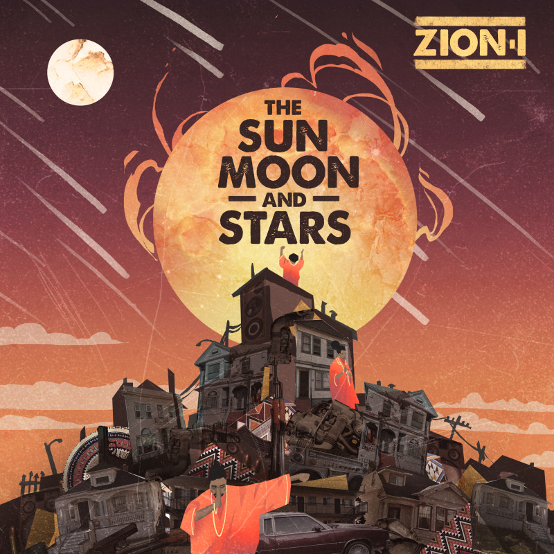 Zion I «The Sun Moon and Stars EP» (2015)