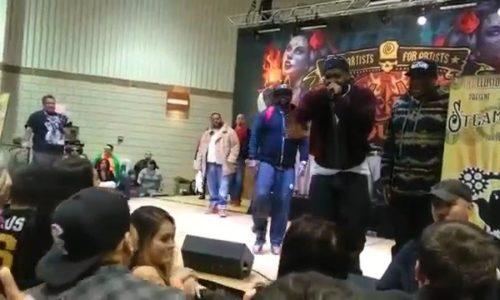 Ghostface Killah остановил выступление из-за пьяного слушателя, которому в итоге досталось от фанатов артиста