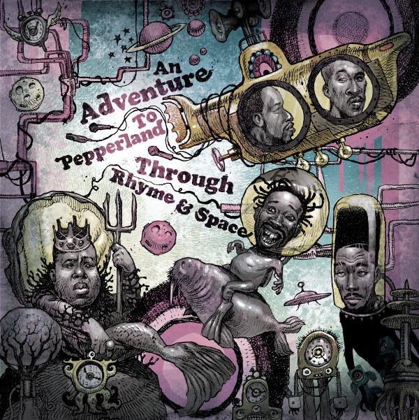 Wu-Tang, Nas, Rakim, M.O.P., 2Pac, Big Daddy Kane, KRS-One, Notorious BIG, Large Pro,… на двойном релизе под музыку The Beatles.