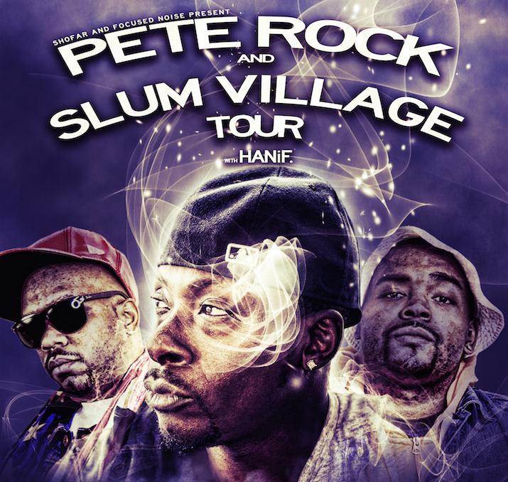 Pete Rock и Slum Village проедут с совместным турне по 28 городам