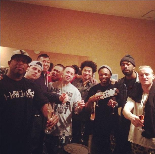 Видео с репетиции DJ Premier и его нового живого бэнда.
