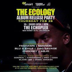 Начало тура Fashawn, которого на сцене в Лос-Анджелесе поддержали Nas, Dilated Peoples и даже Everlast (House of Pain)