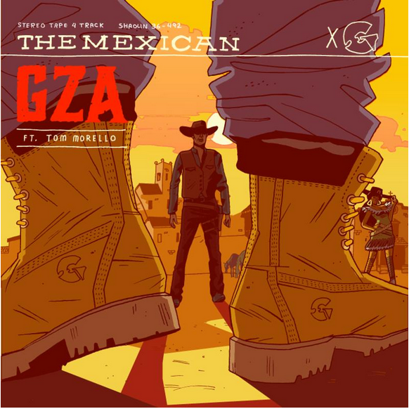 GZA (Wu-Tang Clan), Tom Morello (Rage Against The Machine), The Roots и Crazy Legs (Rock Steady Crew), на одной сцене с треком «The Mexican»