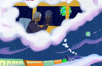 Красивейшее анимированное видео и трек от молодого рэппера SkyBlew