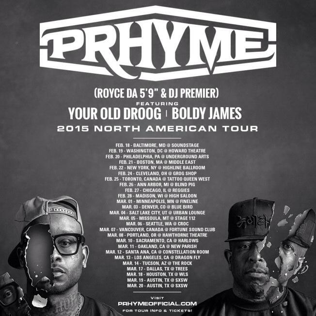 Выходец с Украины Your Old Droog, выступает на одной сцене с DJ Premier и Royce Da 5'9