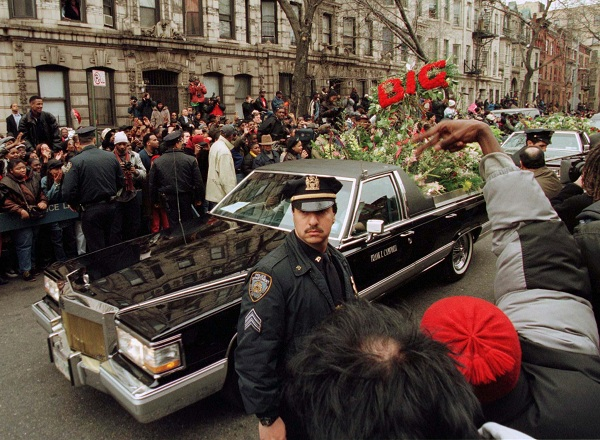 FUNERAL PROCESSION FOR RAPPER IN BROOKLYN