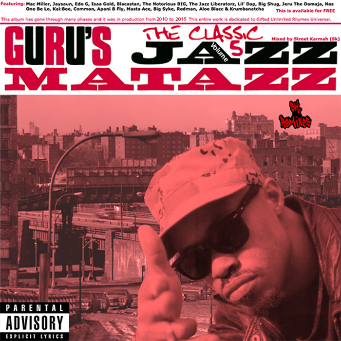 Неожиданно и интересно!!! Увидел свет альбом Guru Jazzmatazz 5: The Classic !!!