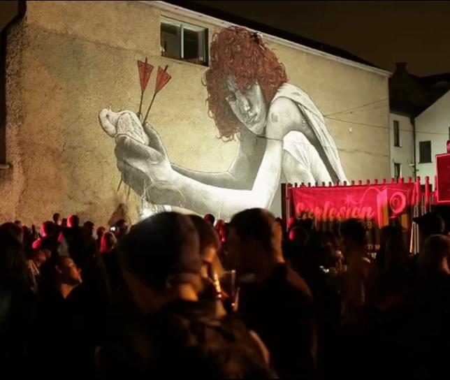 Объёмные работы граффитчика MTO, отчёт за 2014 год
