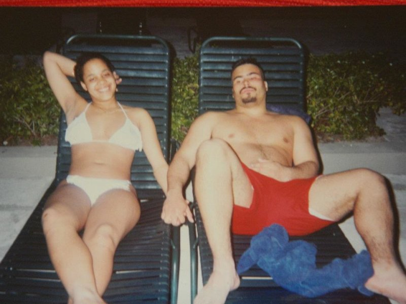 Big Pun & Lisa Rios