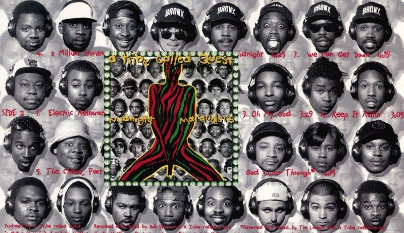 Кто же изображён на обложке альбома A Tribe Called Quest «Midnight Marauders» !?