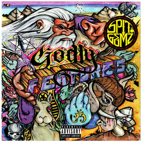 SPIT GEMZ «Godly Features» (2015)