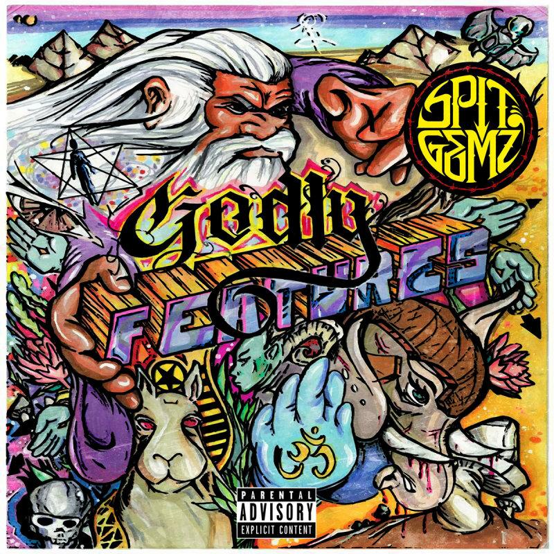 SPIT GEMZ «Godly Features» (2015)