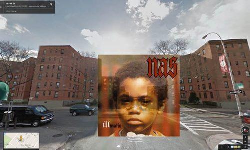 Улицы, где делали фото для обложек альбомов Nas, Ice Cube, Eminem, Warren G, Beastie Boys, The Roots, Big L, LL Cool J, DOC,…