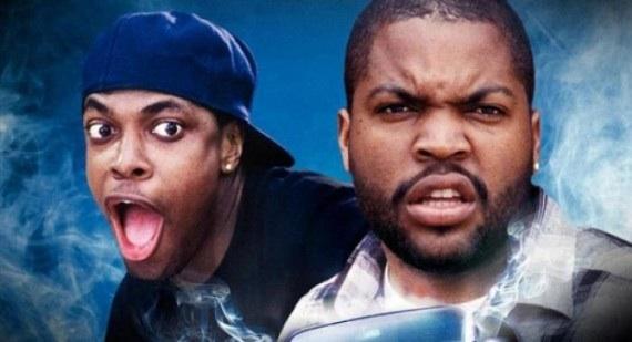 Редкие закулисные кадры со съёмок легендарного фильма «Пятница» (Ice Cube, Chris Tucker)