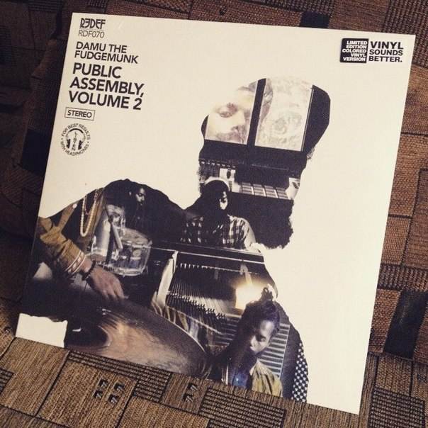 Damu The Fudgemunk — Public Assembly Volume 2