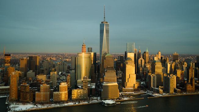 Manhattan-Skyline-Winter