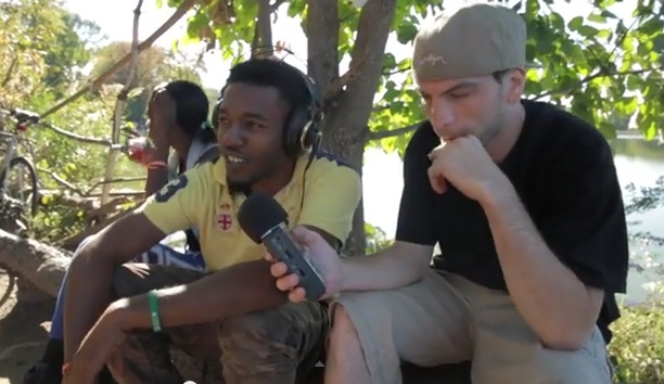 Mr.Green встретил в Бруклинском парке реггей исполнителя и записал с ним трек