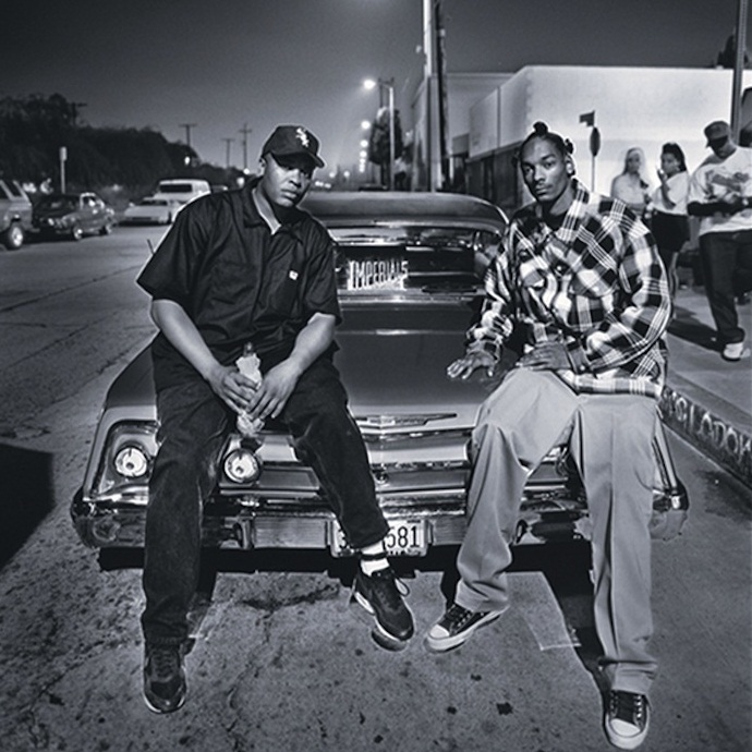 Dr.Dre за вертушками, на сцене Snoop Dogg, мелкий Bow Wow, в перерыве смешит людей Крис Такер, а на дворе 1993 год