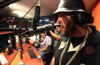 Горячий фристайл от Nems на Showoff Radio, в гостях у Statik Selektah, под бит Alchemist