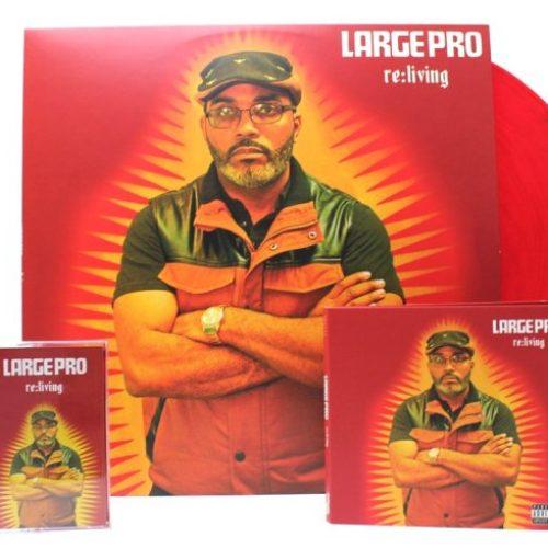 Large Professor «Re: Living». Новый релиз от супер-продюсера/МС.
