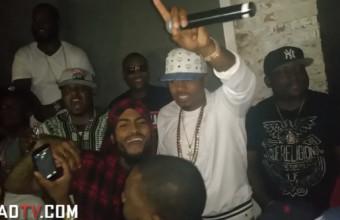 Nas устроил after party после премьеры своего фильма Fresh Dressed