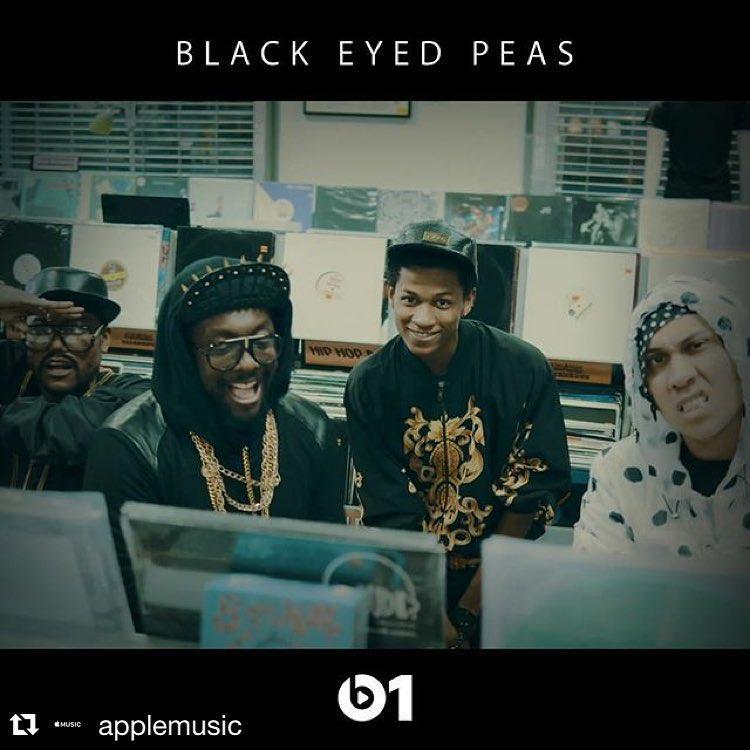 Потрясающее видео The Black Eyed Peas, которые вспомнили Хип-Хоп Героев прошлых лет