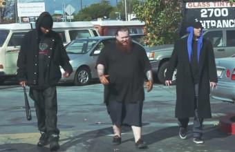 Безумные покатушки в компании The Alchemist, Oh No (Gangrene) и Action Bronson в новом видео «Driving Gloves»