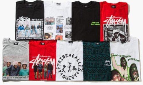 A Tribe Called Quest и Stüssy выпускают совместную капсульную коллекцию