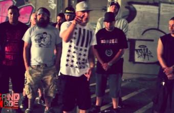 Diabolic представляет видео Grind Mode Cypher, при участии Lingo, Easty, Rippz, Passionate MC, Massaka & D Gazz
