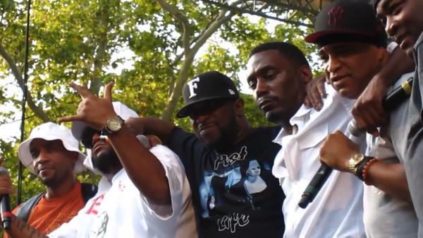 Фантастическое объединение Juice Crew в лице Marley Marl, Masta Ace, Craig G, Kool G Rap и Big Daddy Kane