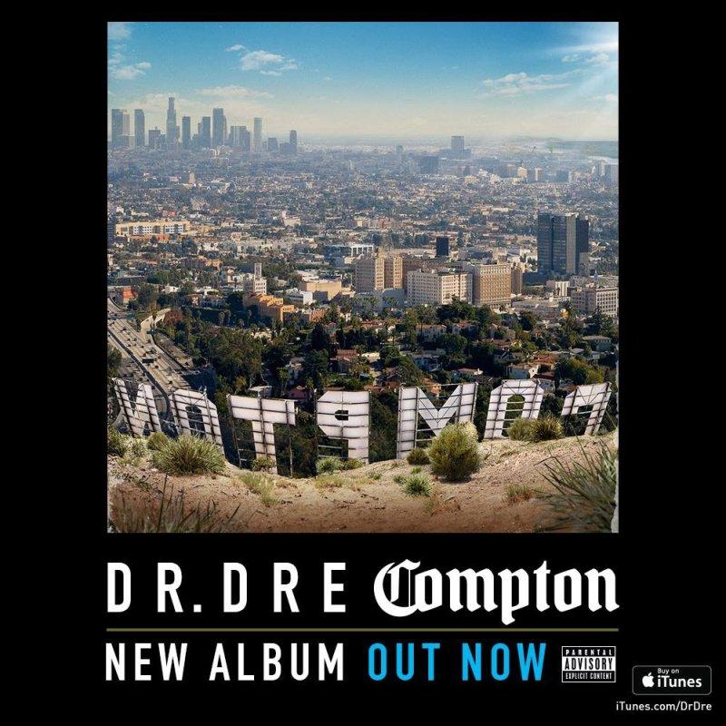 """Interscope надеялись продать за неделю 1 млн копий альбома Dr. Dre """"Compton"""""""