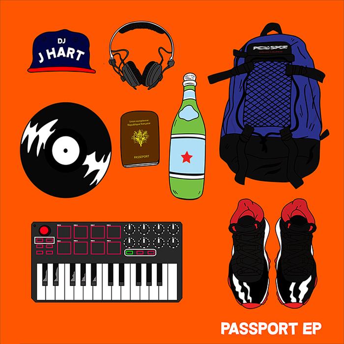 Dj J Hart «Passport EP» (2015)