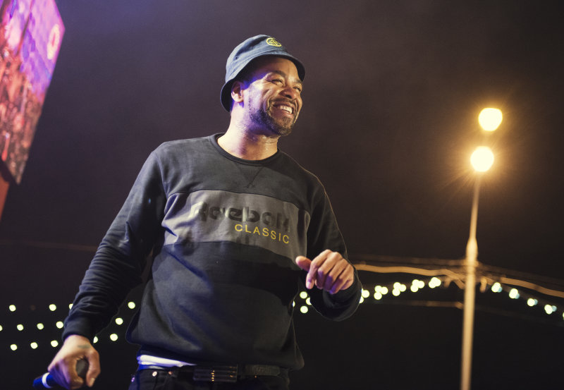 Фото с концерта Method Man'а в Москве