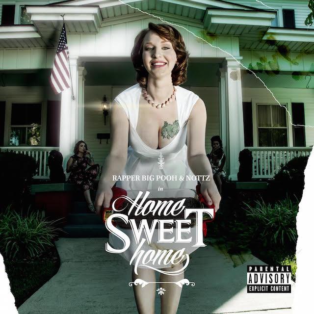 Обложка и треклист с предстоящего релиза Rapper Big Pooh & Nottz «Home Sweet Home»