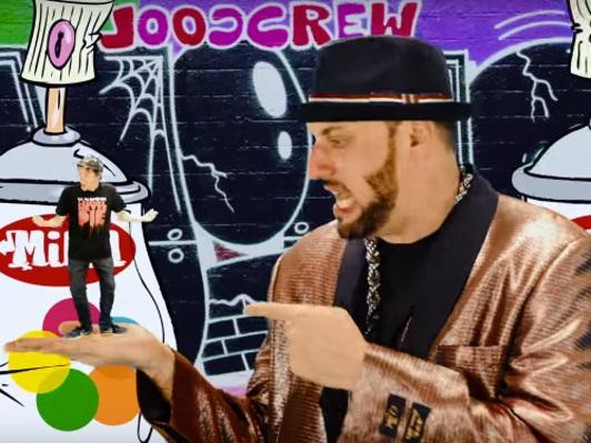 Новое весёлое видео от R.A. The Rugged Man и бит-бокс сенсации из Австралии