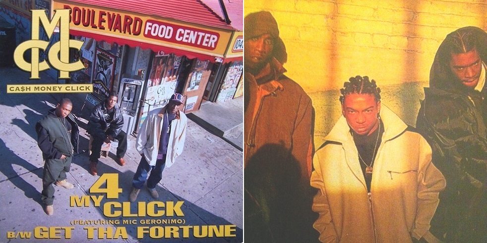 Cash Money Click — «4 My Click» / «Get The Fortune» (1994)