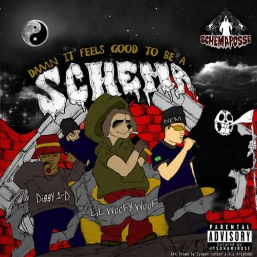 «Damn It Feels Good To Be A Schemma»: G-Funk в стиле 90-х с элементами хорроркор от Schemaposse!