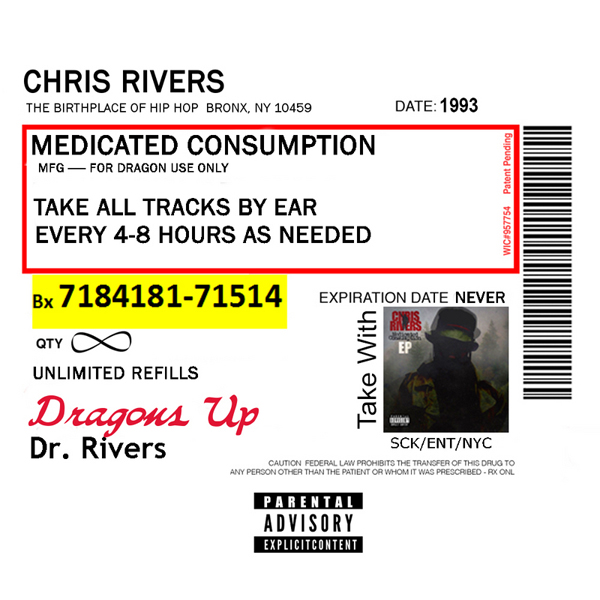 Chris Rivers (сын Big Pun) выпустил микстейп «Medicated Consumption»