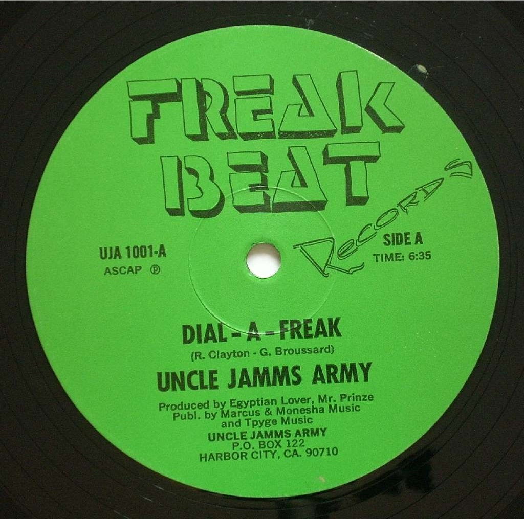 06. Uncle Jamm's Army — «Dial-A-Freak» (1983)