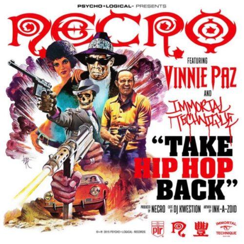 Necro, Vinnie Paz & Immortal Technique расскажут что такое Hip Hop!