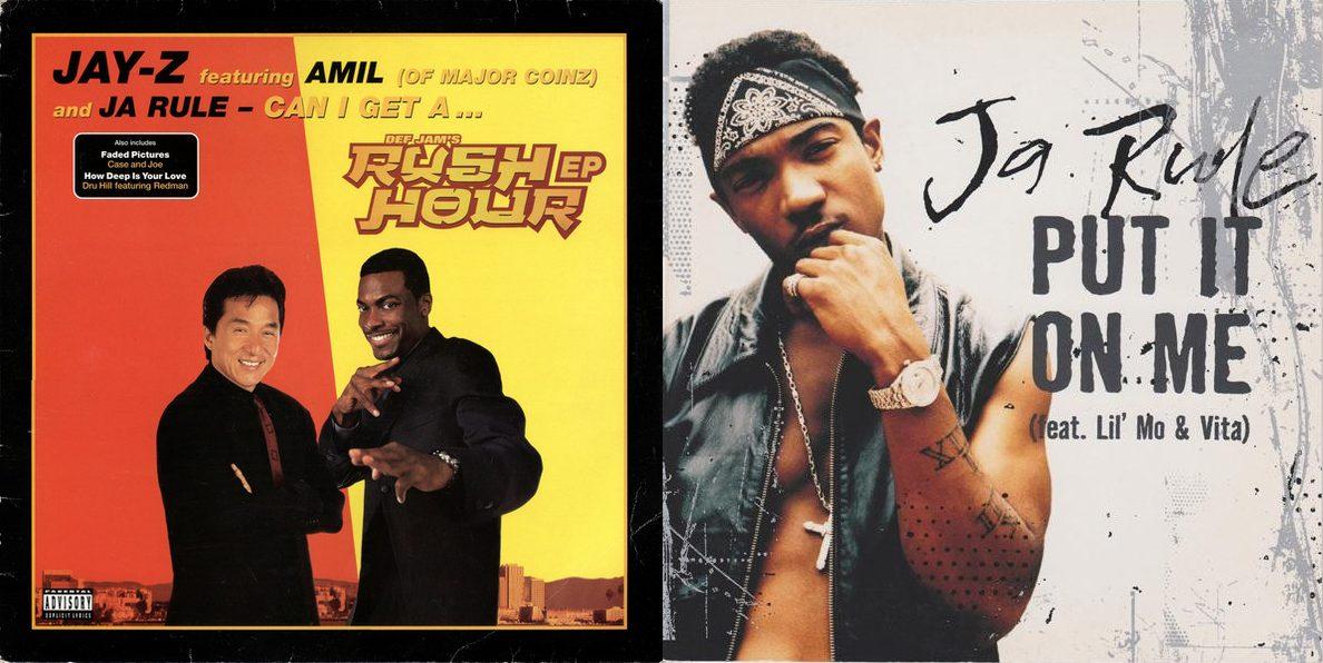 Jay-Z feat. Ja Rule & Amil «Can I Get A…» (1998) / Ja Rule «Put It On Me» (2003)