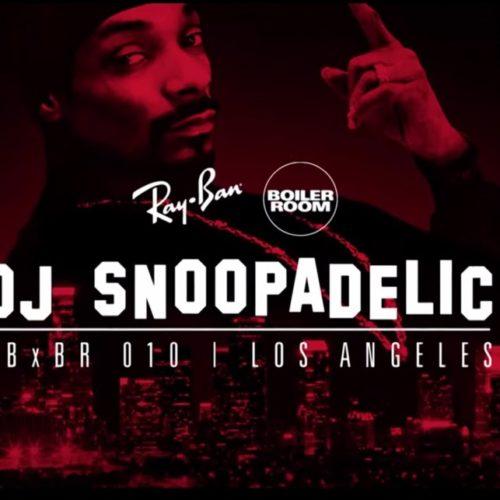 Snoop Dogg в Лос Анджелесе рамках Boiler Room, отыграл сэт из музыки 70-80-х годов